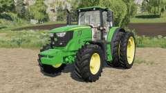 John Deere 6M-series custom para Farming Simulator 2017