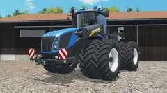 New Holland T9.565 dual float wheels para Farming Simulator 2015
