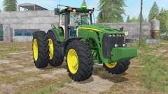 John Deere 8000 USA para Farming Simulator 2017
