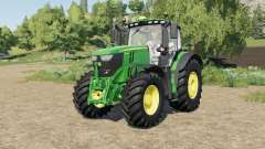 John Deere 6R-series tire selection para Farming Simulator 2017