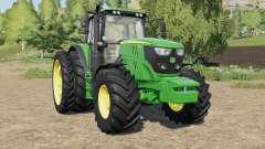 John Deere 6R-series more tires para Farming Simulator 2017