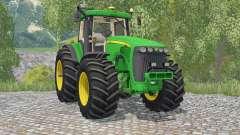 John Deere 8520 pantone greeꞑ para Farming Simulator 2015