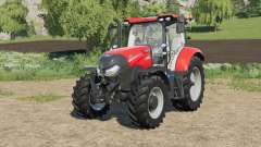 Case IH Maxxum adjusted transmission settings para Farming Simulator 2017