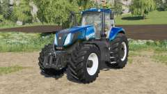 New Holland T8-series new engine configuration para Farming Simulator 2017