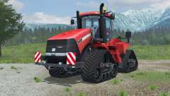 Case IH Steiger 600 Quadtrac license plate para Farming Simulator 2013