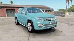 Volkswagen Amarok Double Cab 2016 para American Truck Simulator
