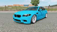 BMW M5 (F10) 2012 v5.0 para Euro Truck Simulator 2