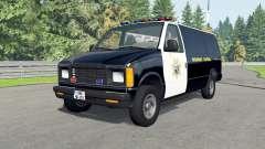 Gavril H-Series California Highway Patrol v1.6 para BeamNG Drive