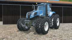 New Holland T8.320 zwillingsbereifung para Farming Simulator 2015