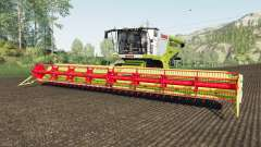 Claas Lexion 780 río granᶁᶒ para Farming Simulator 2017