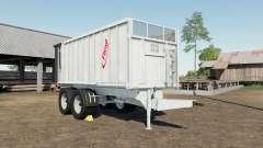 Fliegl TMK 266 Bull gray nurse para Farming Simulator 2017