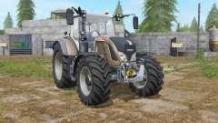 Fendt 700 Vario added tires para Farming Simulator 2017