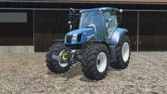 New Holland T6.160 no brackets para Farming Simulator 2015