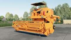 Bizon Super Z056 orange para Farming Simulator 2017
