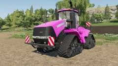 Case IH Steiger Quadtrac in color pink para Farming Simulator 2017