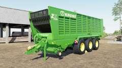 Krone ZX 560 GD capacity 100.000 liters para Farming Simulator 2017