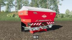 Kuhn Axis 40.2 M-EMC-W Lime Edition para Farming Simulator 2017