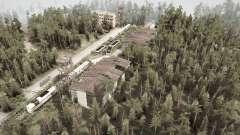 El área de bosque v1.1 para MudRunner