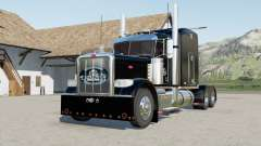 Peterbilt 388 with different skinned para Farming Simulator 2017