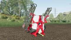 Kuhn Deltis 1302 MTA3 work speed 17 km-h para Farming Simulator 2017