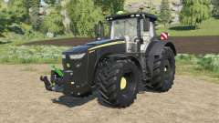 John Deere 8R-series black version para Farming Simulator 2017