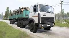 MAZ-64229 6x6 para MudRunner