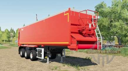 Krampe SB II 30-1070 red grainbelt para Farming Simulator 2017