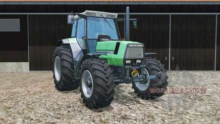 Deutz-Fahr AgroStar 6.61 tires slightly widened para Farming Simulator 2015