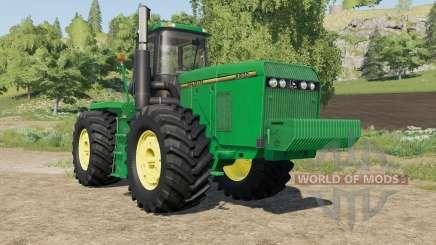 John Deere 8970 original textures para Farming Simulator 2017