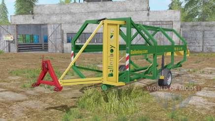 Ballenboy FSB 25-6-110 dartmouth green para Farming Simulator 2017
