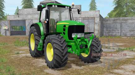 John Deere 7430 Premium animated display para Farming Simulator 2017