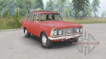 Moskvich-408 para Spin Tires