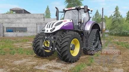 Steyr Terrus 6000 CVT raupenfahrwerk para Farming Simulator 2017