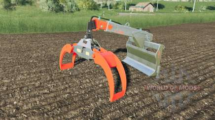 Fliegl Long Neck Combi Plus mouse controlled para Farming Simulator 2017