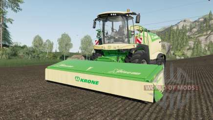 Krone BiG X 1180 use spherical trailers fix para Farming Simulator 2017