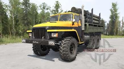 Ural-375Д Principales v1.2 para MudRunner