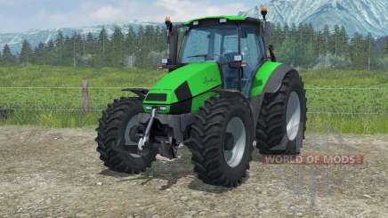 Deutz-Fahr Agrotron 120 MK3 plug-in awd para Farming Simulator 2013
