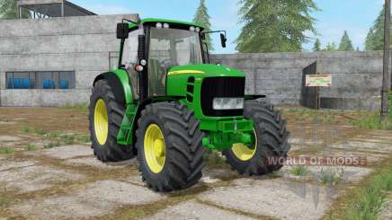 John Deere 7430 Premium with power selection para Farming Simulator 2017