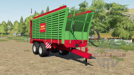 Hawe SLW 45 silage trailer para Farming Simulator 2017
