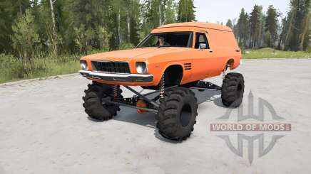 Holden Sandman Panel Van (HQ) 1974 lifted para MudRunner