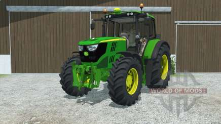 John Deere 6115M manual ignition para Farming Simulator 2013