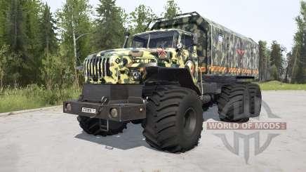 VTS Ural-Polyarnik para MudRunner