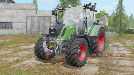 Fendt 310&313 Vario with beacon lights para Farming Simulator 2017