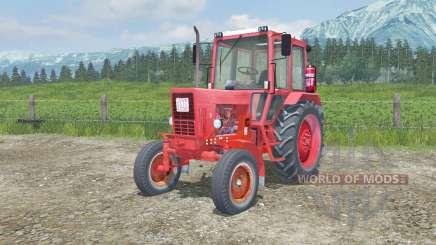 MTZ-80, Belarús con manual de encendido para Farming Simulator 2013