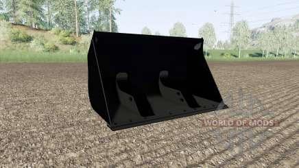 Cubo con un gran volumen para Farming Simulator 2017
