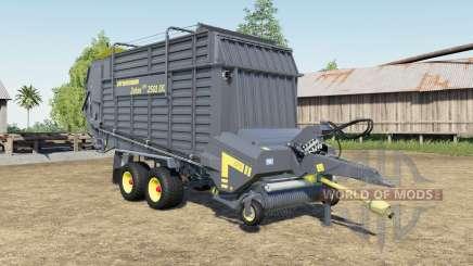 Strautmann Zelon CFS 2501 DO capacity increased para Farming Simulator 2017
