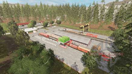 Rockwood and Riverwood v1.1 para Farming Simulator 2015