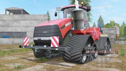 Case IH Steiger 1000 Quadtrac Red Baron para Farming Simulator 2017