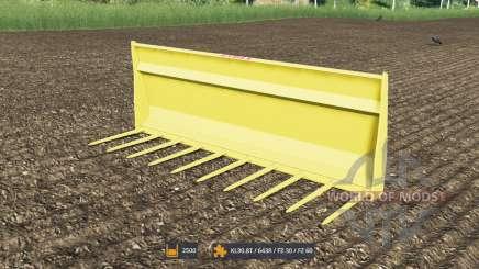 Horquillas para el estiércol con un gran volumen para Farming Simulator 2017