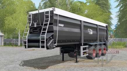 Krampe Sattel-Bandit 30-60 trailer hitch para Farming Simulator 2017